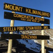 Uhuru Peak Kilimandscharo Besteigung