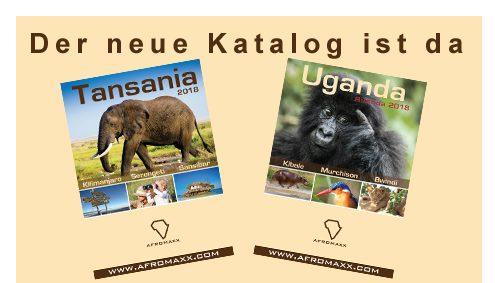 Tansania Reisekatalog