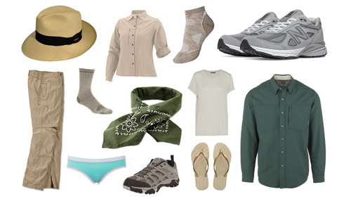 Welche Kleidung sollten Touristen auf einer Safari anziehen?