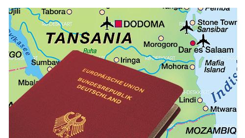 Visum Tansania beantragen, Einreise und Zollbestimmungen