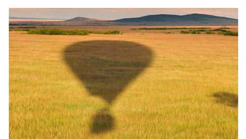 Tanzania Ballonsafari Serengeti